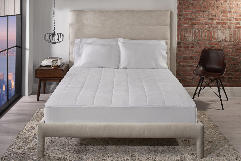 sunbeam heated mattress pad available sizes