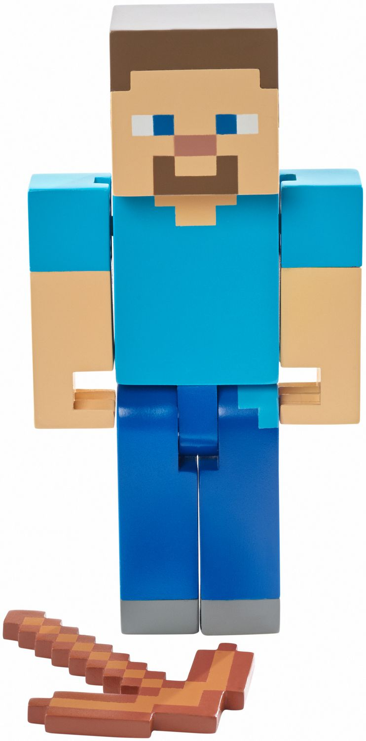 Minecraft Steve With Pickaxe Figure 5