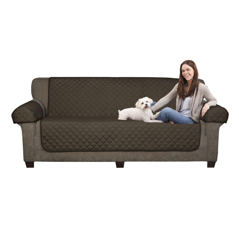 Mainstays Microfiber Reversible Sofa Pet Cover