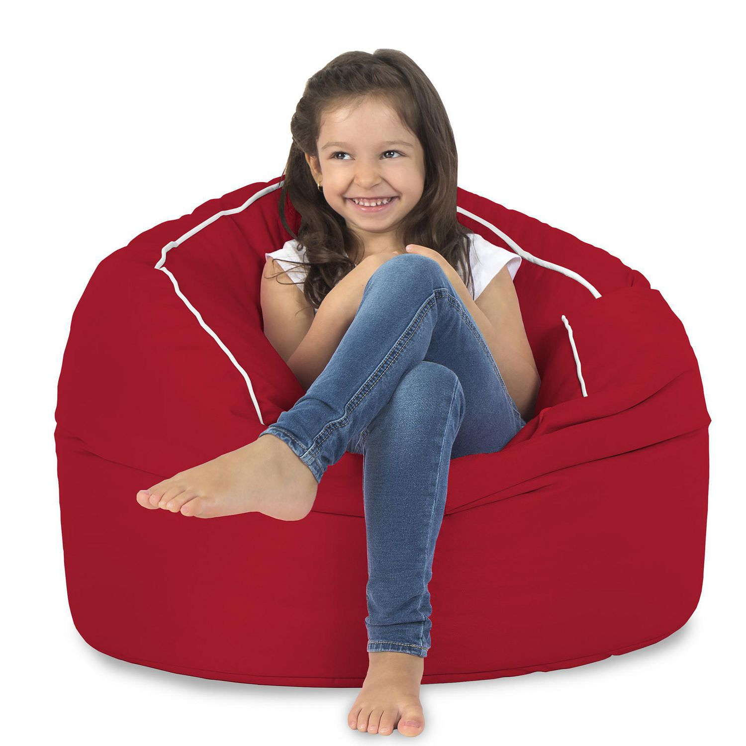 Lounge & Co Red Drum Bean Bag Cover | Walmart Canada
