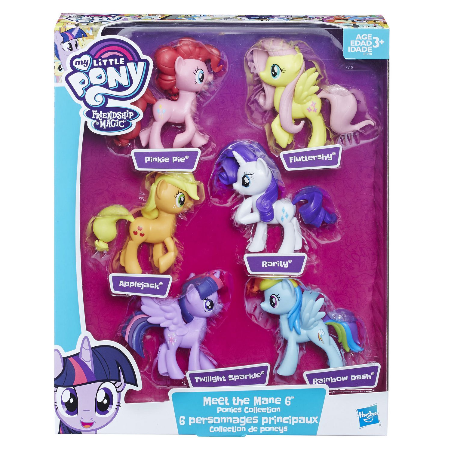 - My Little Pony Meet The Mane 6 Ponies Collection Walmart Canada