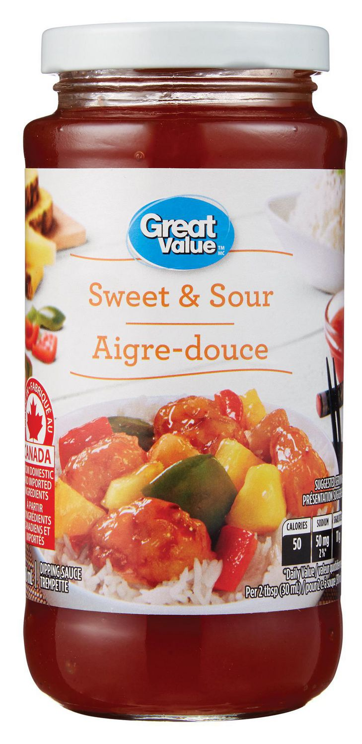 Great Value Sweet Sour Sauce Walmart Canada