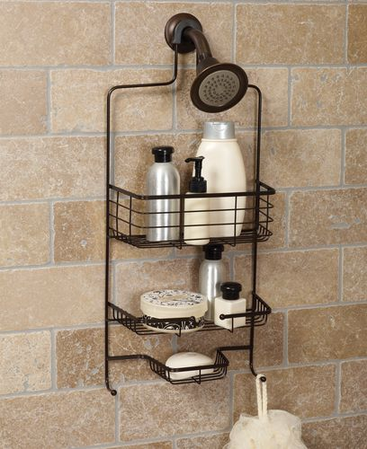 Hometrends Over the Shower Caddy, Oil Rubbed Bronze | Walmart Canada