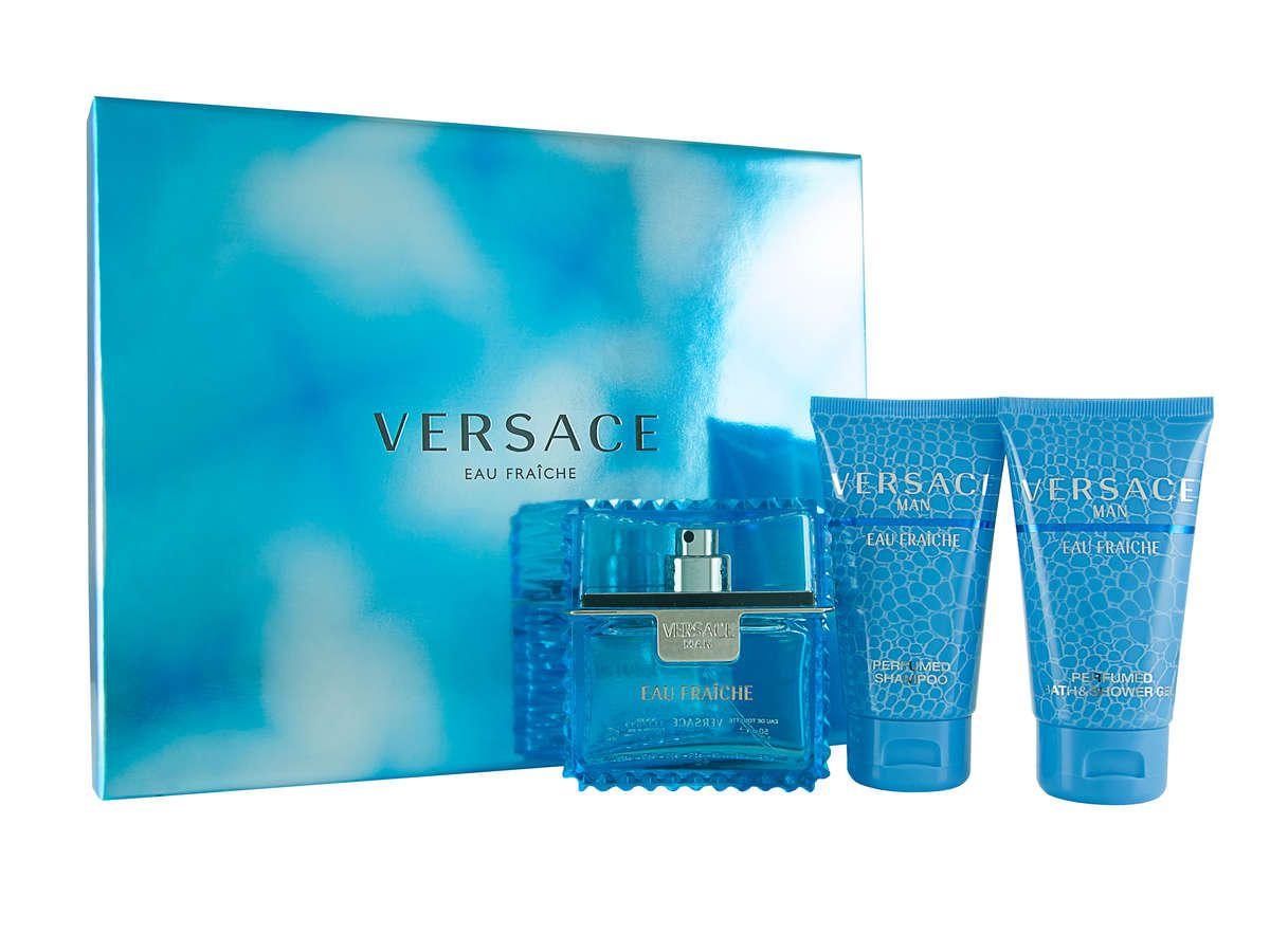 Versace Eau Fraiche 50 Ml Eau De Toilette Spray 50 Ml Shower Gel