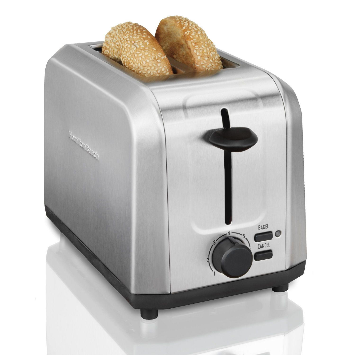 Hamilton Beach 22911C Brushed Stainless Steel Toaster