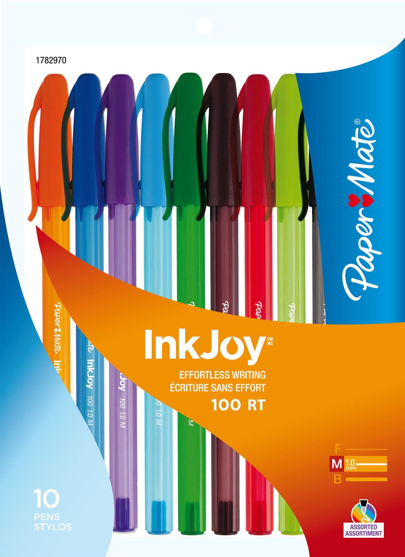papermate paper mate inkjoy effortless writing pens walmart canada