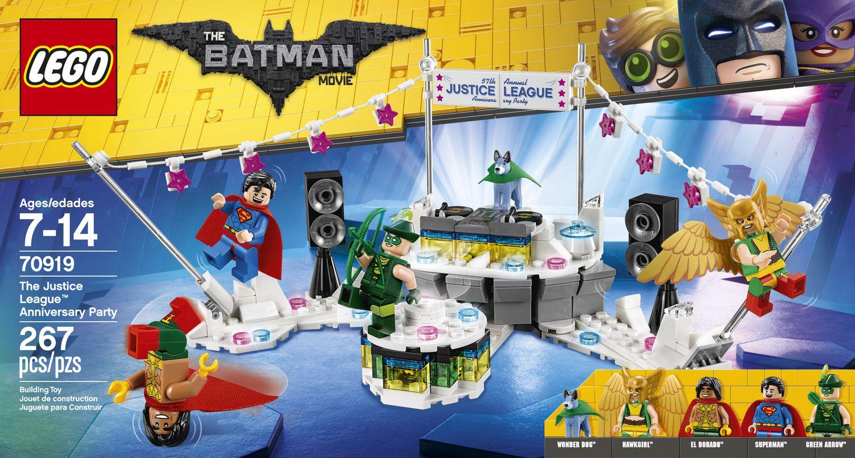 Lego The Batman Movie 70919 Justice League Anniversary Party SUPERMAN minifigure