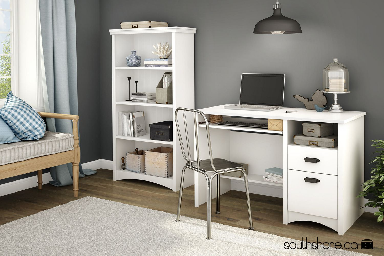 storage shore work with annexe furniture dp kitchen combo and table ca unit south computer desk shelves amazon home