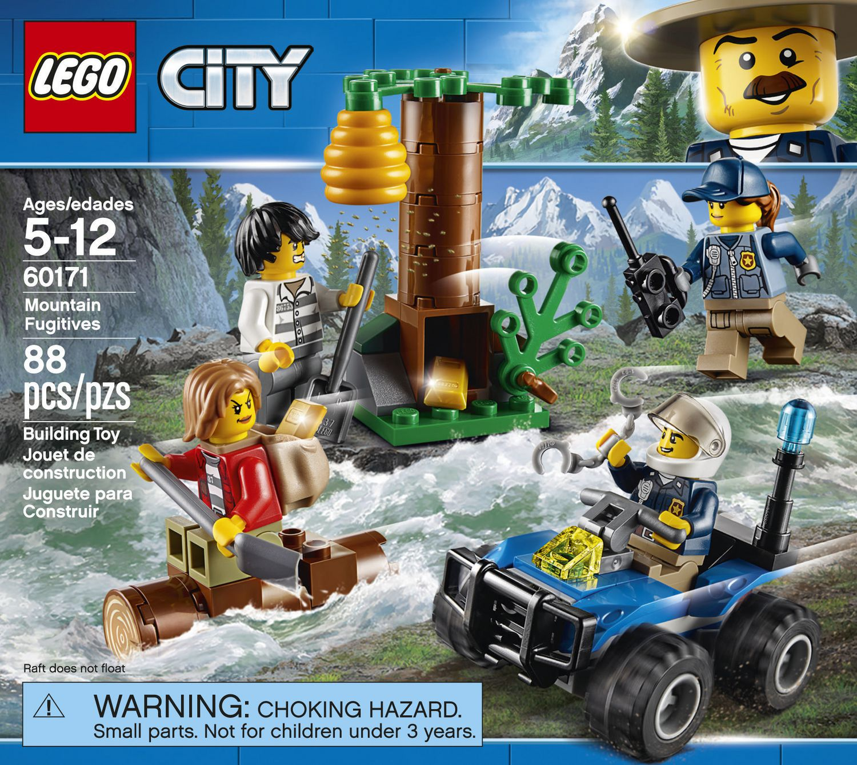 LEGO 60171 City Police Mountain Fugitives