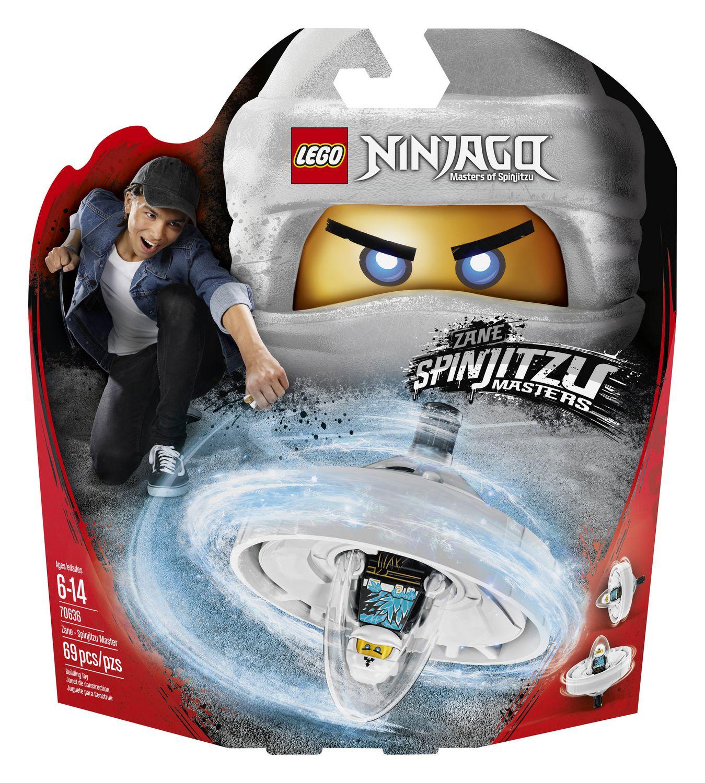 Spinjitzu Master 70634 Building Kit LEGO Ninjago NYA 69 Piece
