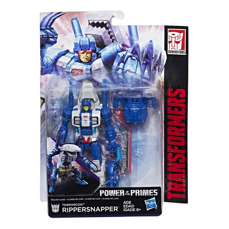 Transformers ~ Rippersnapper Figurine ~ Deluxe Class ~ La puissance des primes