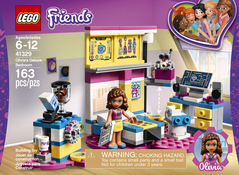 LEGO Friends - Olivia's Deluxe Bedroom (41329) | Walmart ...