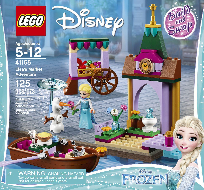 New LEGO Disney Series 41155 Frozen Elsas Market Adventure Building Toy Set