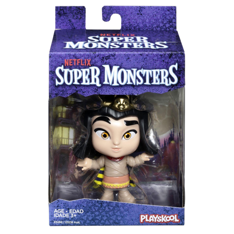 Netflix Super Mini Monstres Figurine Cleo Graves De 10 Cm à Collectionner Pour Enfants De 3 Ans Et Plus