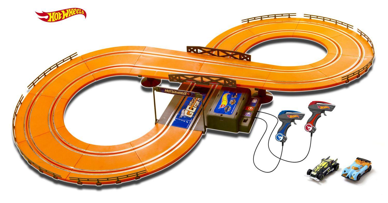 Slot track hot wheels