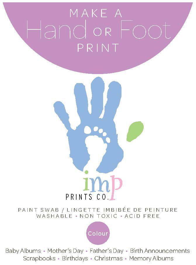 Imp Prints Purple Paint Swab | Walmart Canada