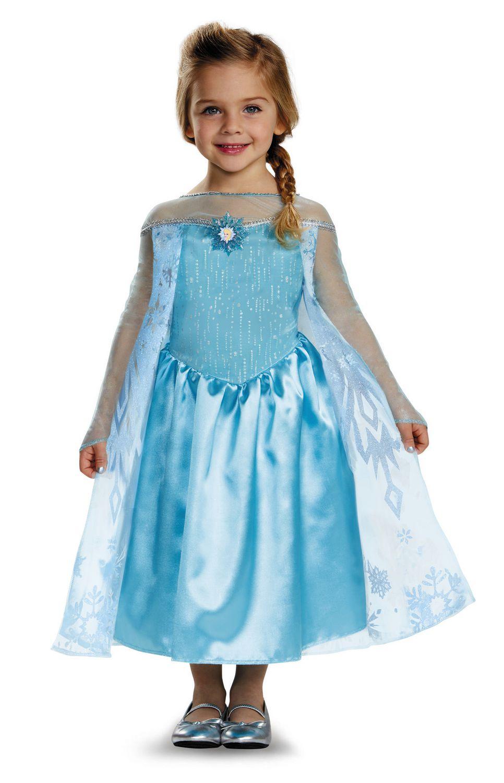 Disguise Costume Classique Elsa De La Reine Des Neiges De Disney Walmart Canada