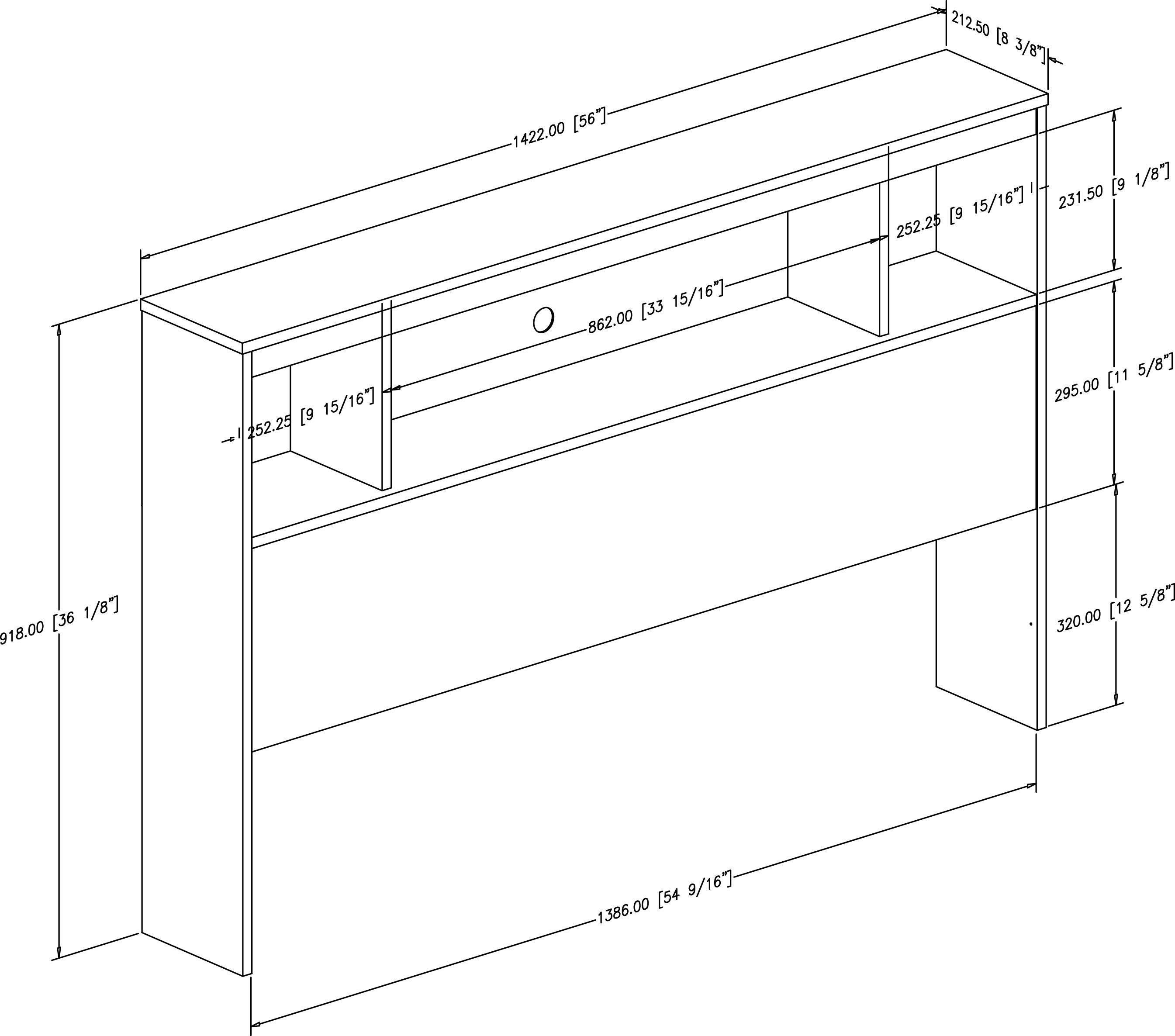 South Shore Spark Full Bookcase Headboard Walmart Canada 9s Ct Metering Wiring Diagram