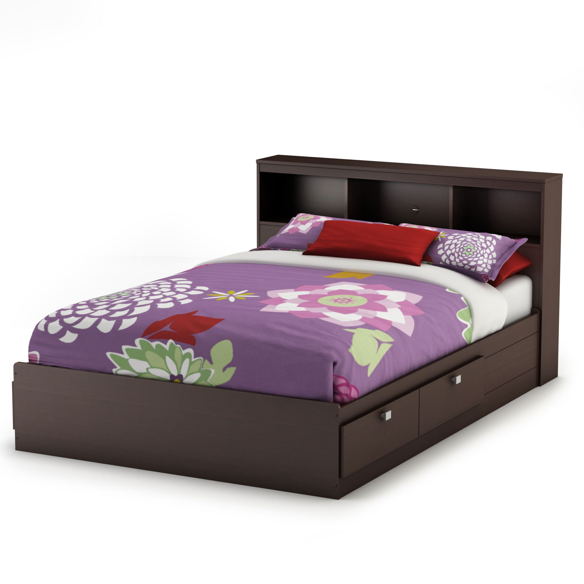south shore spark collection full mates bed  walmartca -