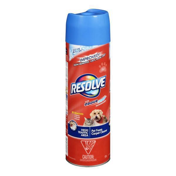 Dog Urine Smell In Wool Carpet: Resolve Pet, Dog & Cat Carpet Cleaner, High Traffic Area