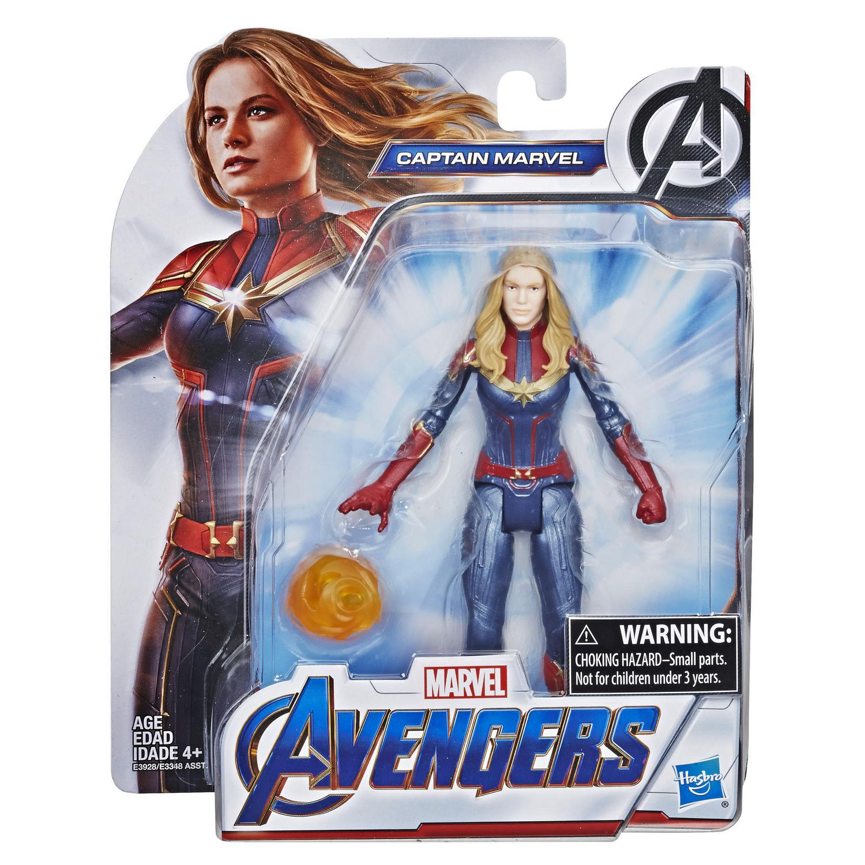 Avengers Captain Marvel Action Figure Featuring Carol Danvers