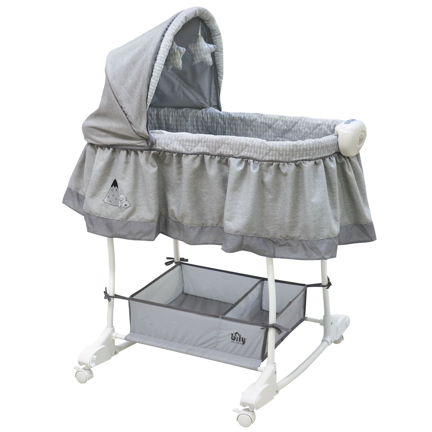 Bily Rocking Bassinet — Best Budget Bassinet