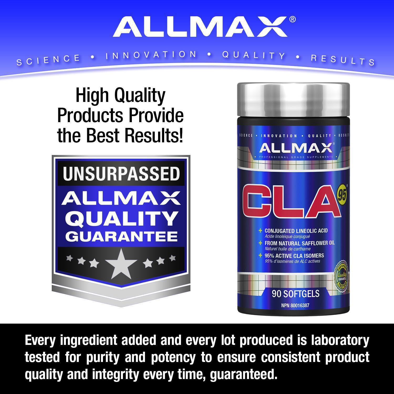 Gelules Acide Linoleique Conjugue Cla 95 D Allmaz Walmart Canada
