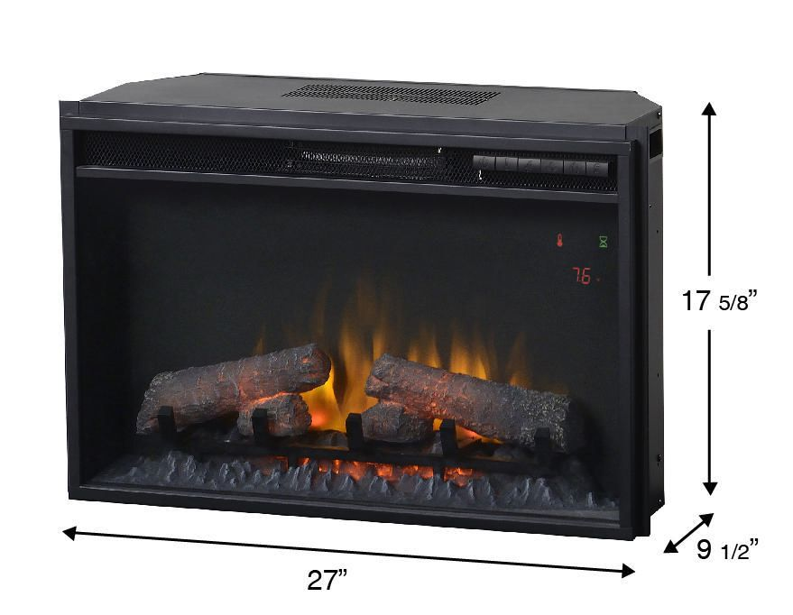 Electric Fireplace walmart electric fireplace : Flamelux 26 Inches Electric Firebox Insert | Walmart.ca