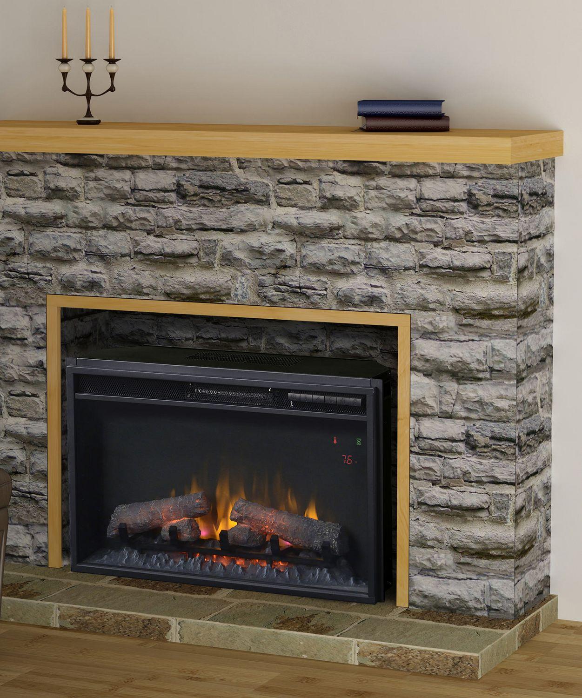 flamelux 26 inches electric firebox insert walmart canada