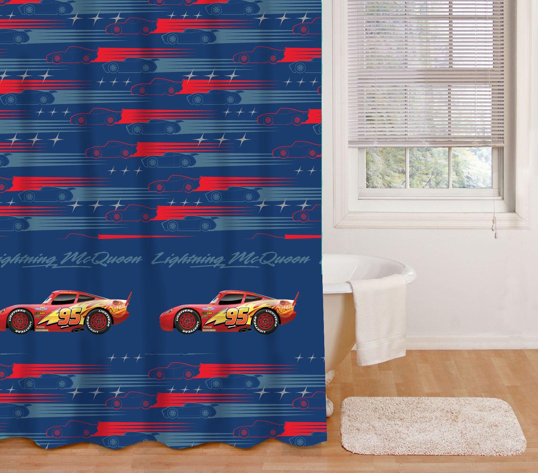 Cars Vinyl Shower Curtain