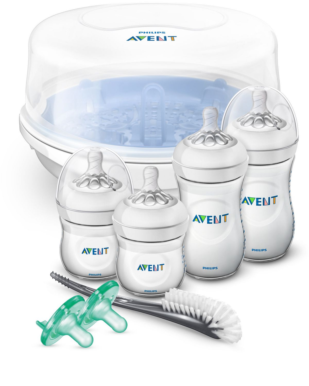 Free Fast Postage Philips AVENT Baby Microwave Steam Bottle Steriliser BPA Free