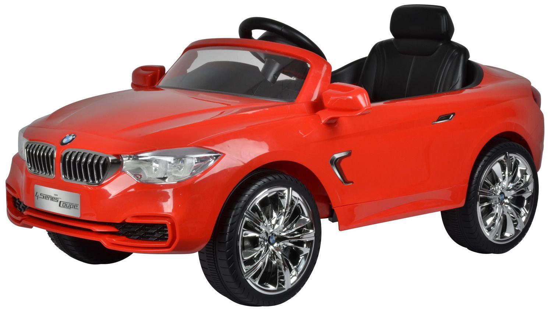 Kool Karz BMW 4 Series Electric Ride On Toy Car - Red ...
