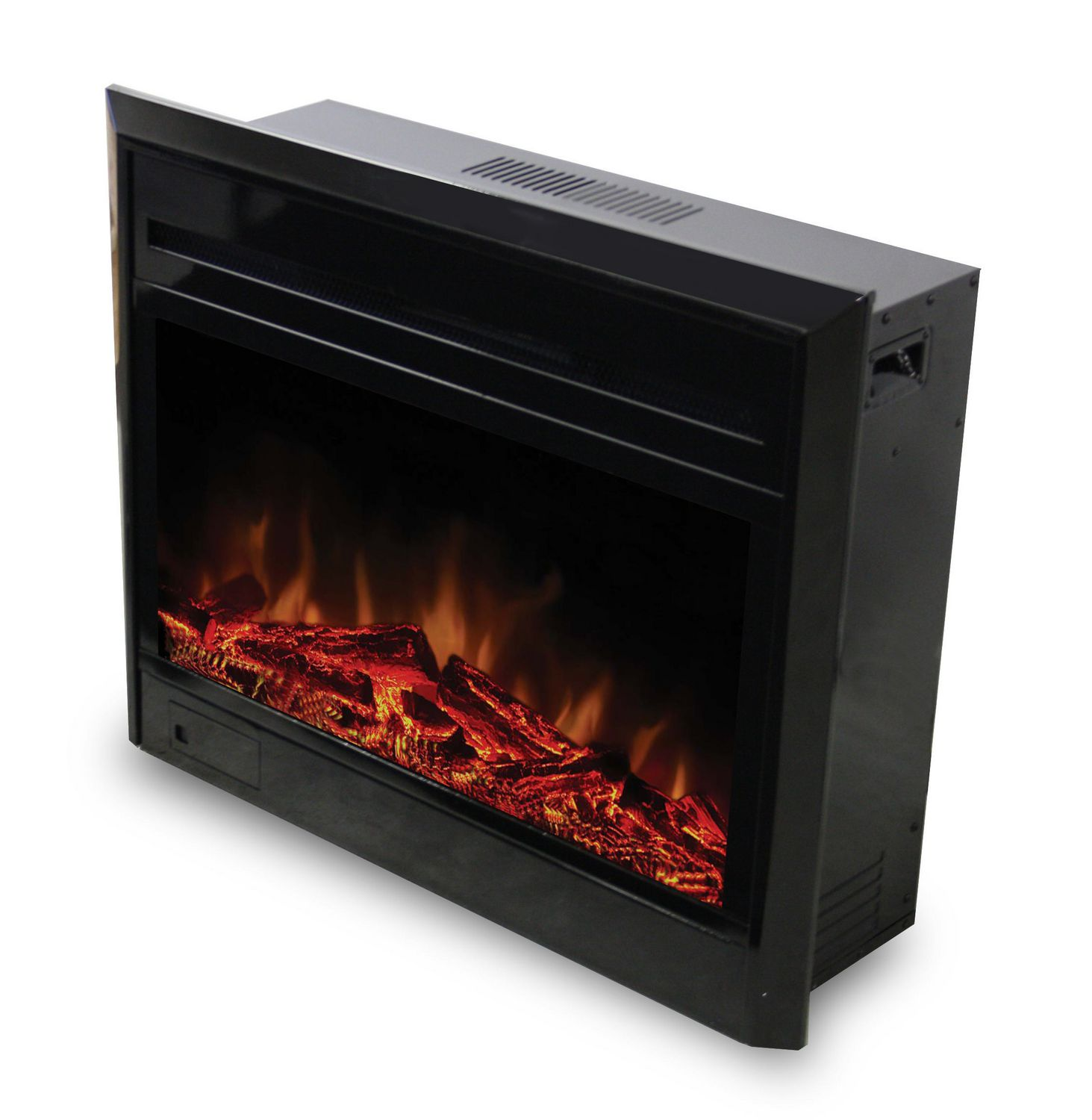 free heater deal fireplace space personal electric homcom daily standing