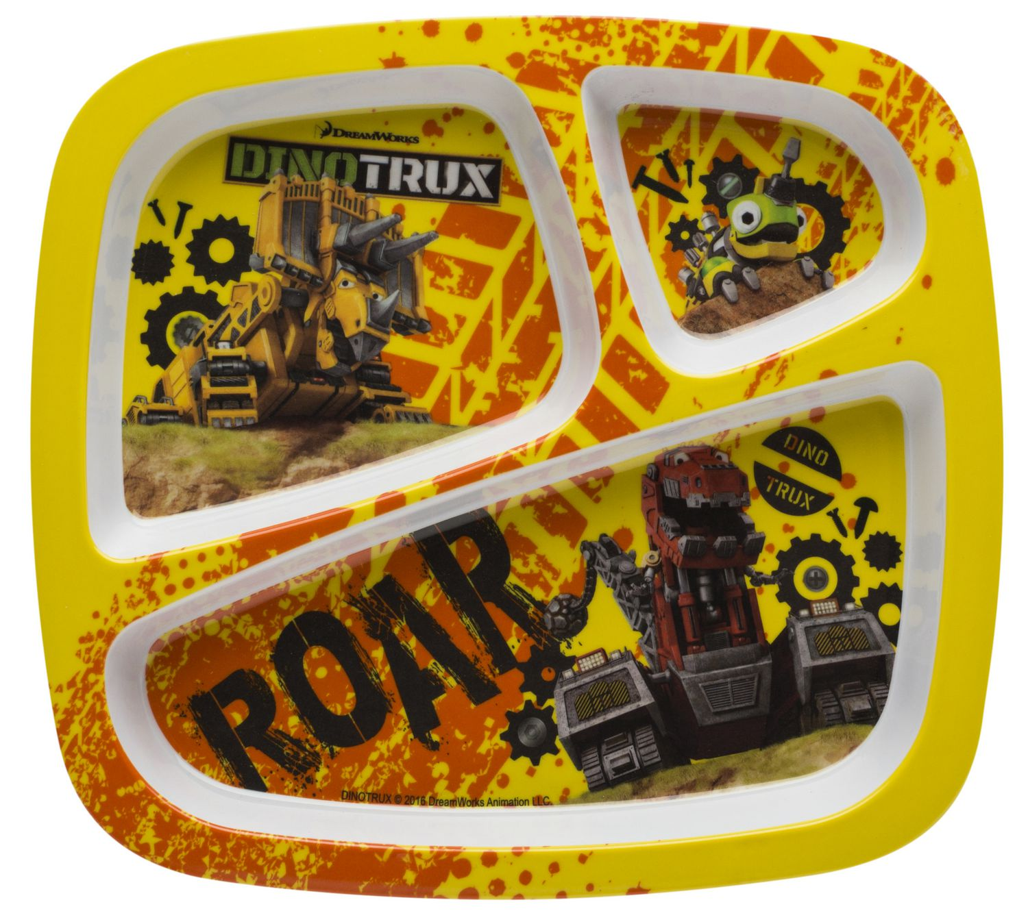 Dinotrux Divided Plate For Kids Walmart Canada