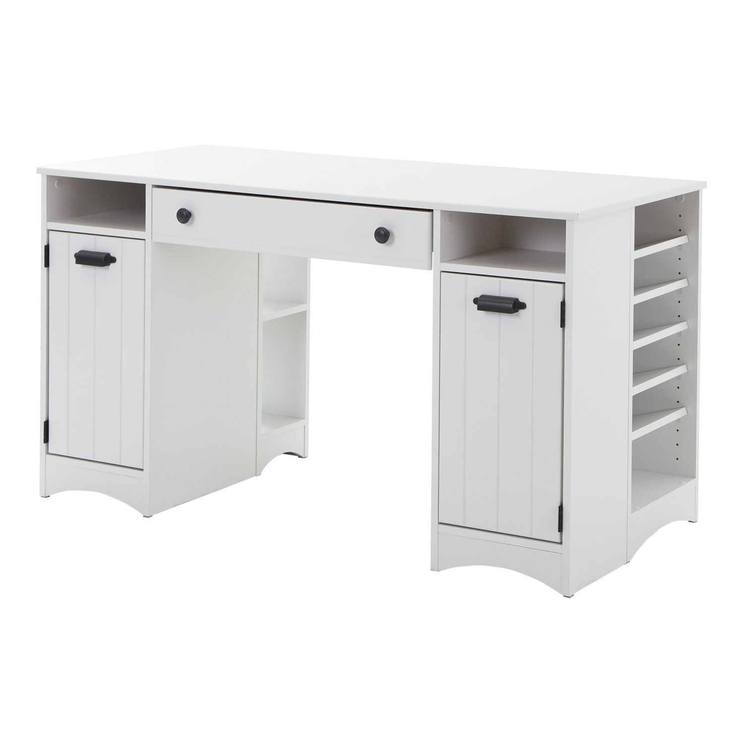 South Shore Artwork Craft Table With Storage, Pure White | Walmart Canada
