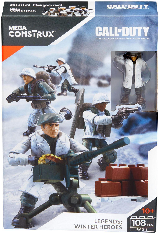 Mega Bloks Mega Construx Call Of Duty Legends Winter Heroes Walmart Canada