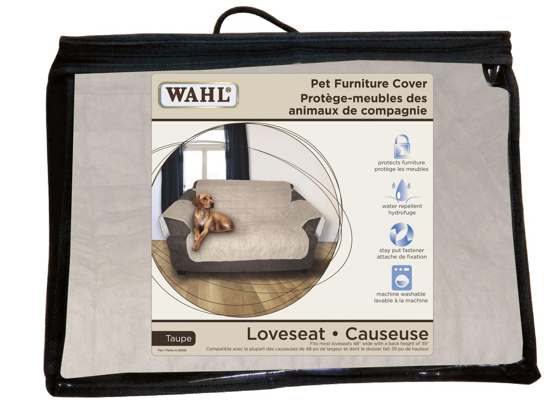 wahl® pet furniture cover  loveseat  walmartca -
