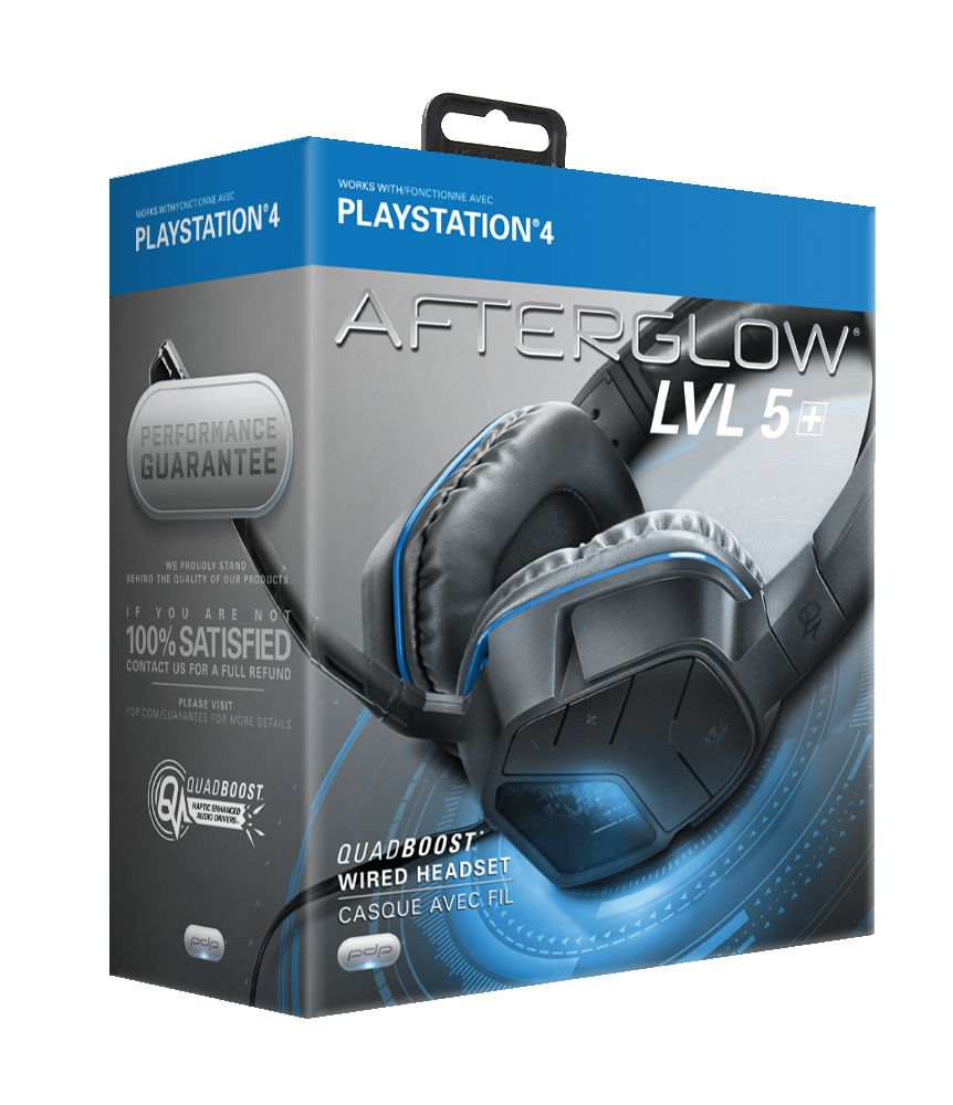 PDP Afterglow LVL 5 Plus Stereo Headset for PS4 | Walmart Canada