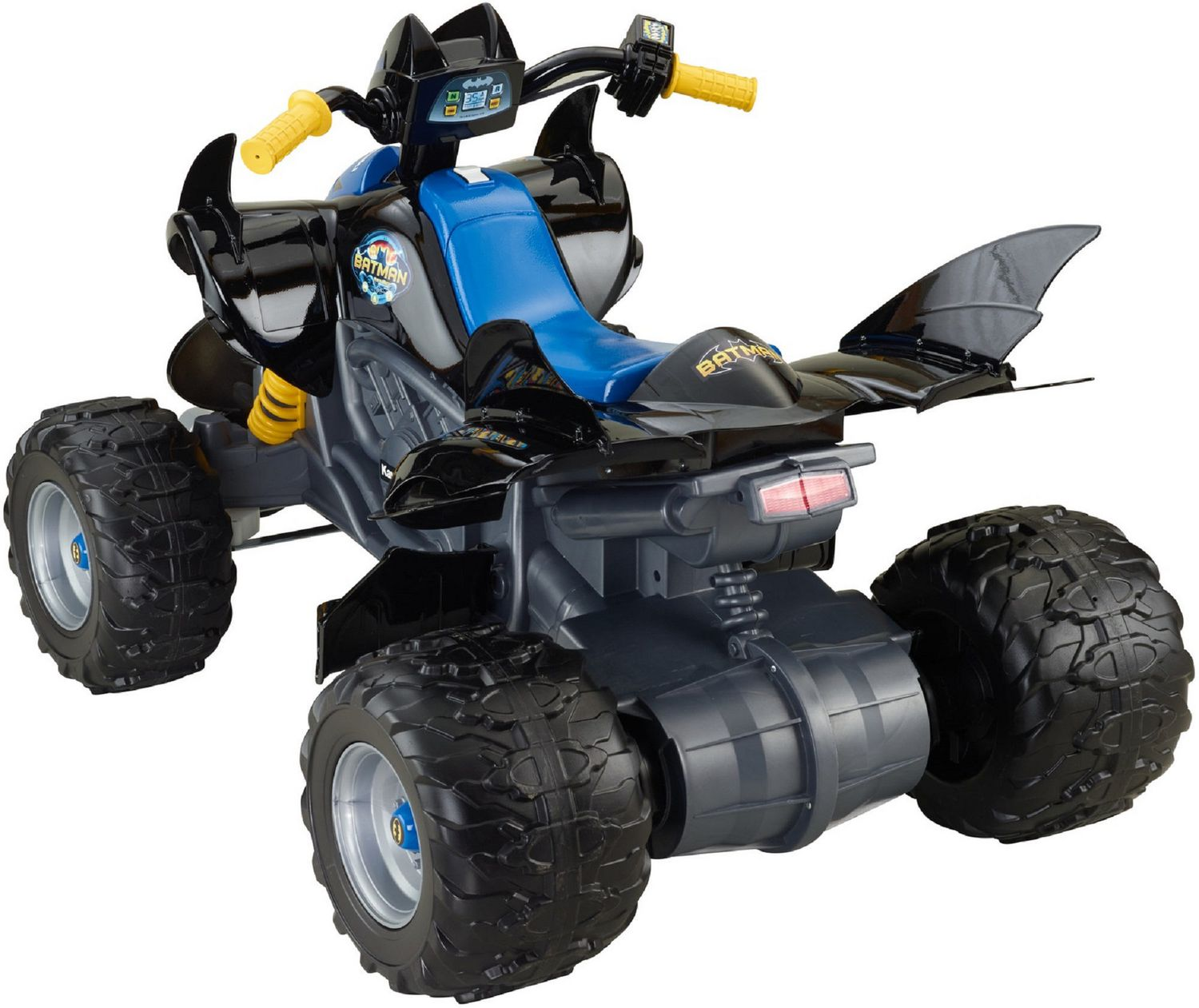 fisher price power wheels dc super friends kawasaki batman atv walmart exclusive walmartca