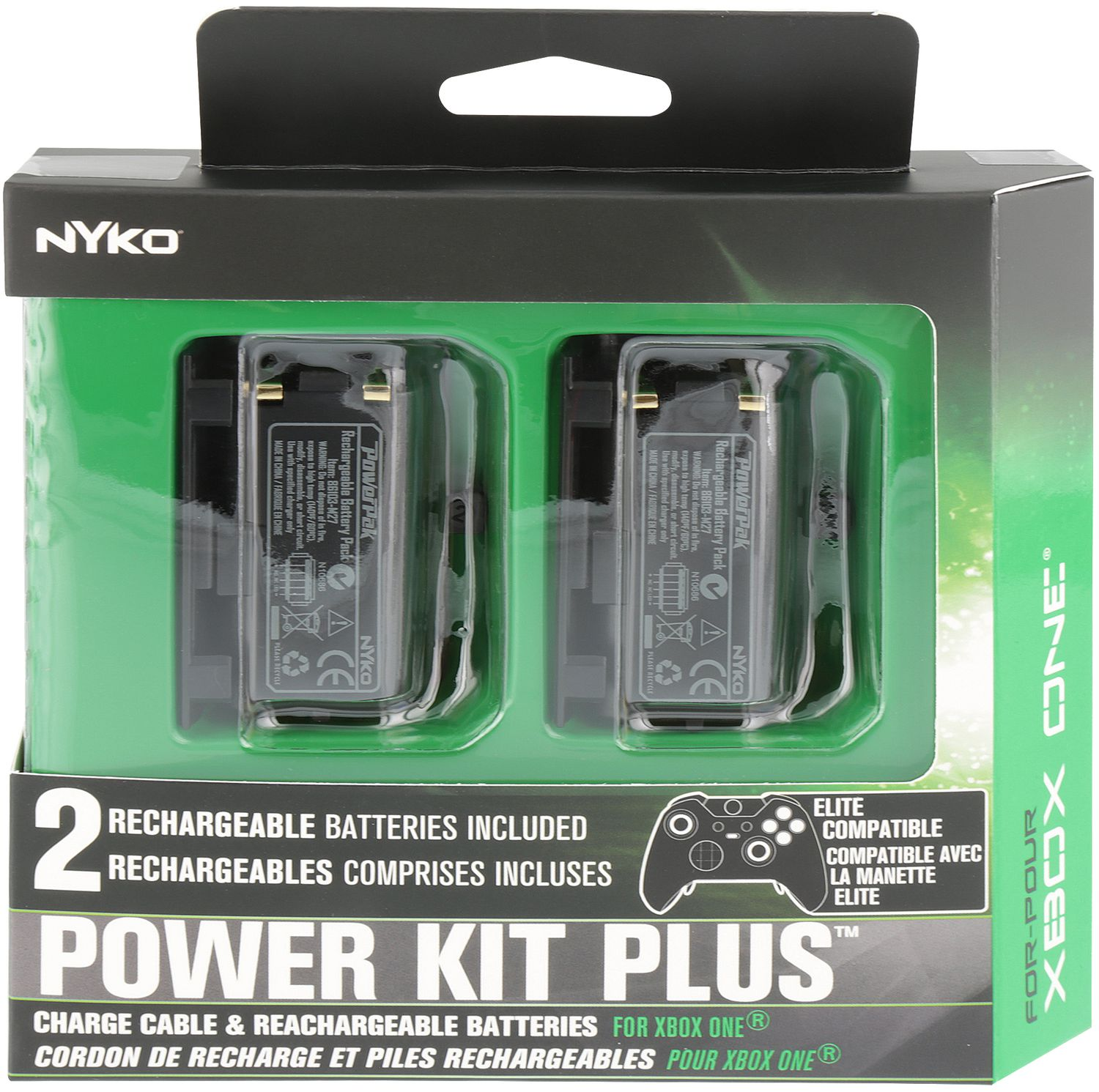 Power Kit Plus Rechargeable Batteries (Xbox One)