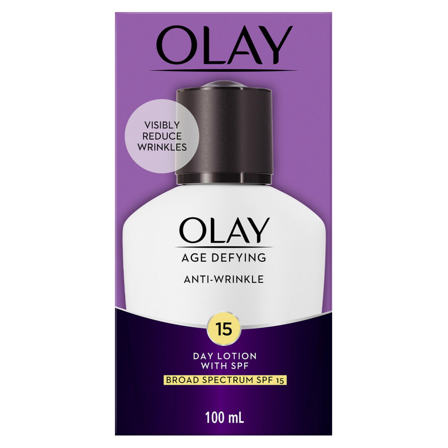 Olay Age Defying Anti Wrinkle Face Lotion With Spf 15 Walmart Canada Body Sp 100ml