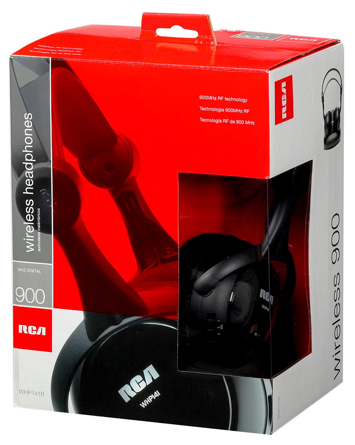 RCA 900 Mhz Full Size Wireless Headphones