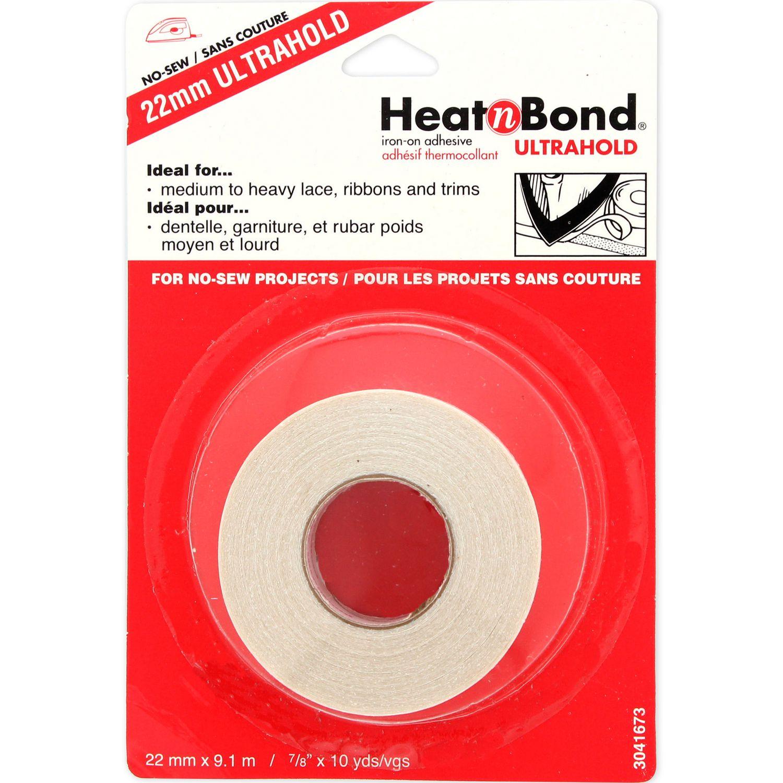7//8 Inch x 10 Yards HeatnBond UltraHold Iron-On Adhesive