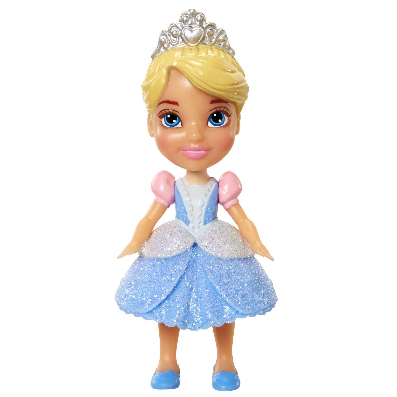 Disney Princess Toddler Doll Cinderella: Disney Princess Mini Toddler Figurine Doll