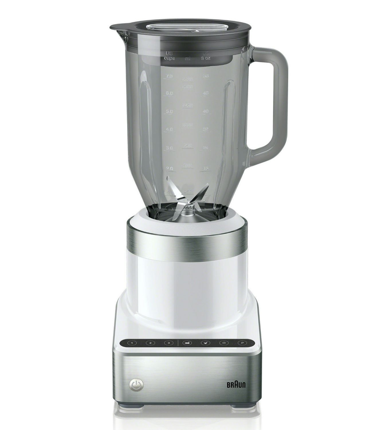 Best gifts for mom - Braun Puremix Power Countertop Blender 1000 W Stainless Steel - For the mom who loves her daily smoothie