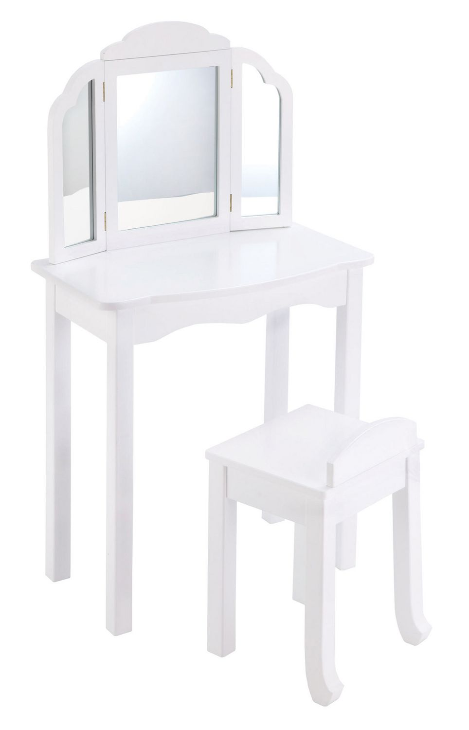 Guidecraft Expressions White Vanity Amp Stool Walmart Canada