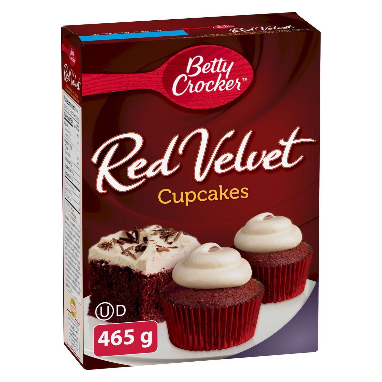 red velvet cupcakes box
