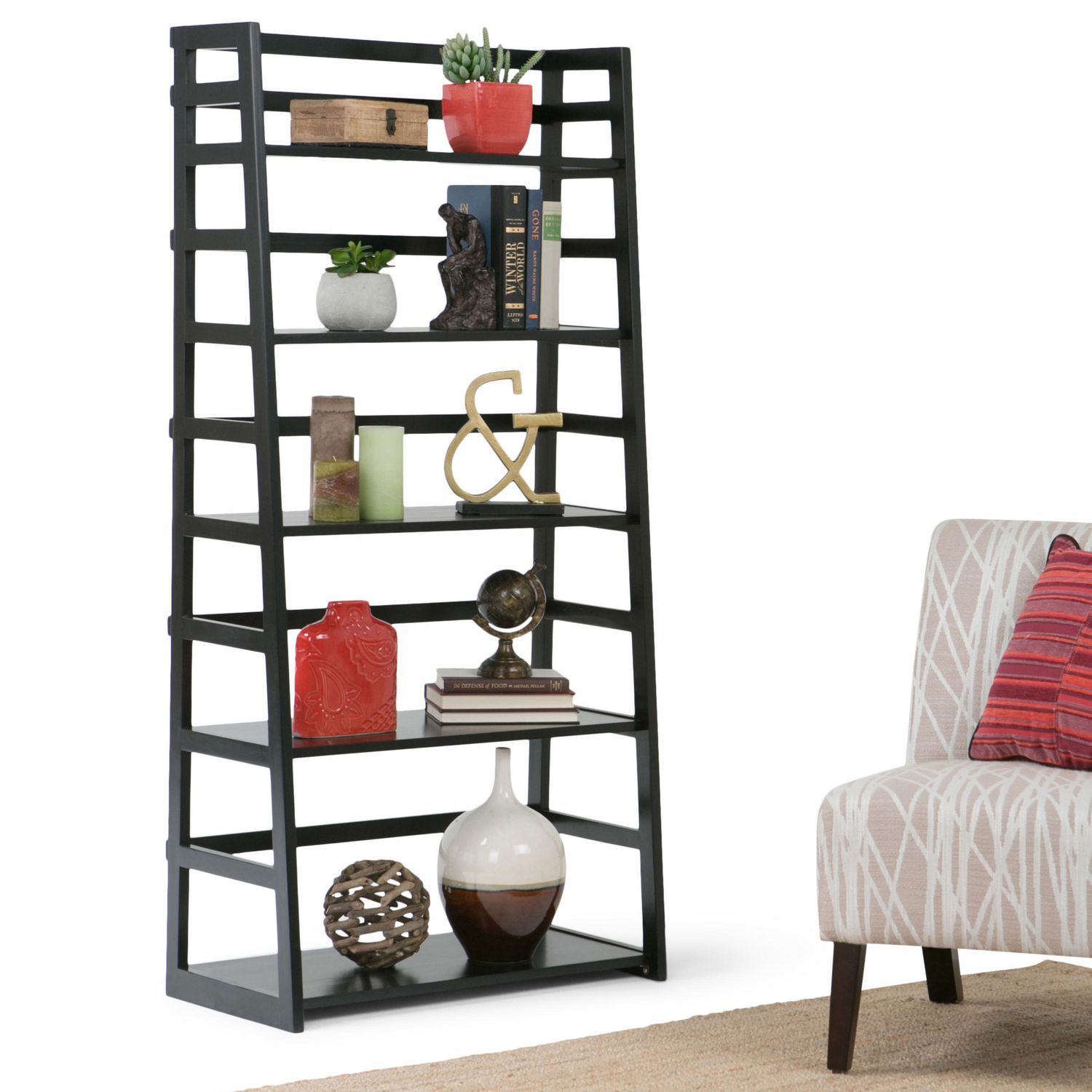 at home amiphi best leaning bookcase hayneedle s about ladder shelf espresso bookcases info toddlers sawhorse remodel for