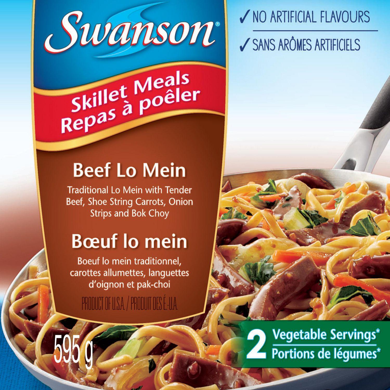 Swanson Skillet Meals Beef Lo Mein
