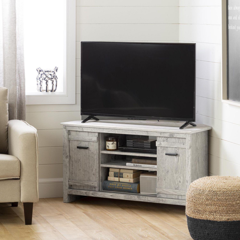 Meuble Tv Pour Coin meuble tv en coin pour tv jusqu'à 42'' exhibit, de meubles south shore